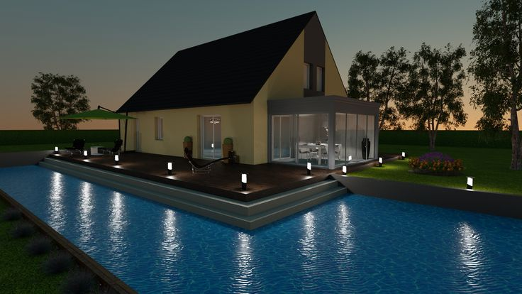 Made with our 3D software, My Sketcher 3D Exterior design, HD - logiciel gratuit architecte d interieur