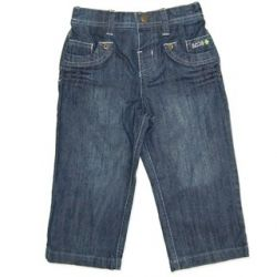 Blue Denim Jeans - a must have for any boy's wardrobe! Sizes 00, 0 & 1.