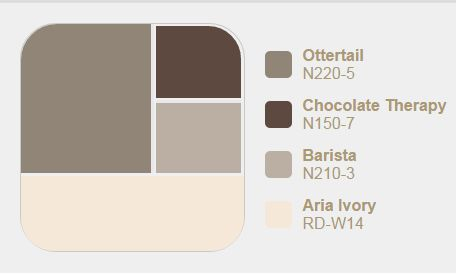 Behr Ottertail Colors Great Room Pinterest Colors