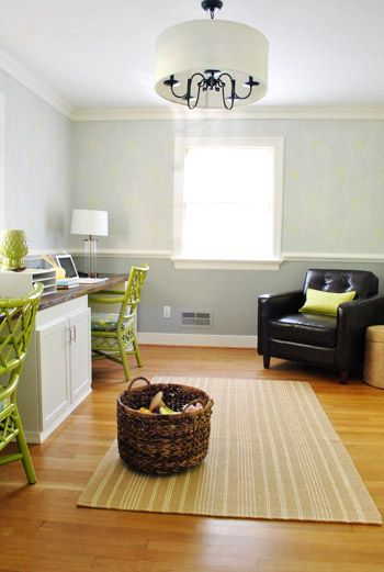 25 Best Faux Chair Rail Horizontal Wall Stripes Images