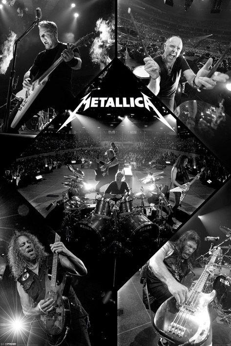 METALLICA - live plakáty | fotky | obrázky | postery