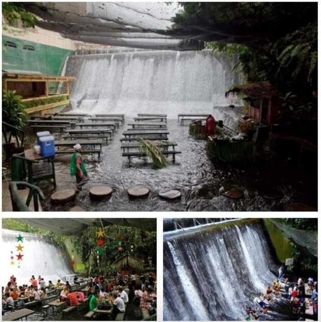Cascada Restaurant-San Pablo Filipinas.-