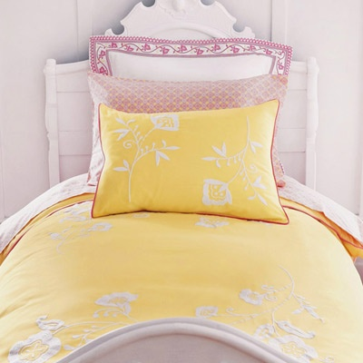 Pink and Yellow for Charity's room