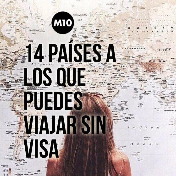 14 increíbles países a los que puedes viajar sin visa
