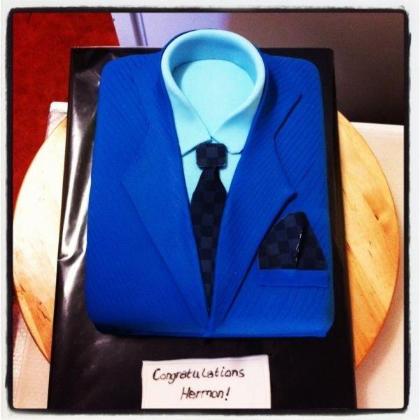 Men S Birthday Cake Suit And Tie Pinterest Men Cake