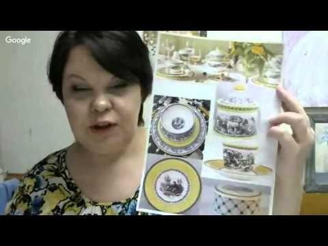 Вебинар.Людмила Михайловская.Подносик «Французский».