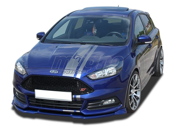 Ford Focus 3 ST Facelift Verus-X Front Bumper Extension