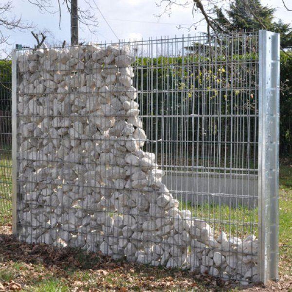 mur galets grillage affordable gabion tous les gabion gabion matelas gabion double torsion. Black Bedroom Furniture Sets. Home Design Ideas