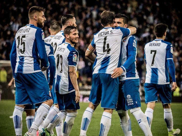 RCD Espanyol De Barcelona #Happiness #Liga #Joma #9ine @Espanyol