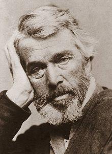 1860's Photo - Thomas Carlyle  Essayist, Historian, Philosopher, Satirist, Mathematician(1795-1881)