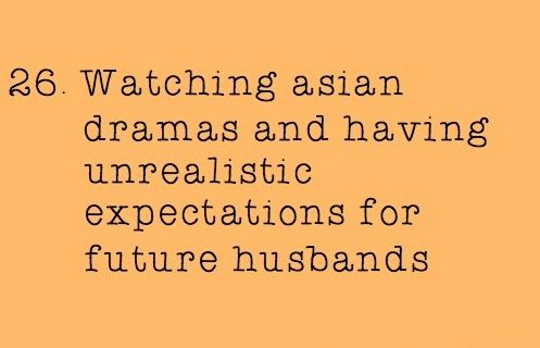 Are dramas ruining your love life?  Why oh why can't love be like our favorite TV shows