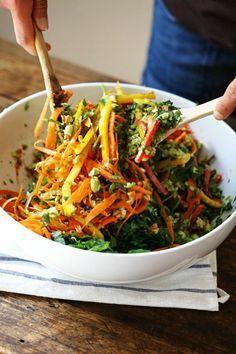 recetas-de-ensaladas-con-lechuga-zanahoria-y-pimientos