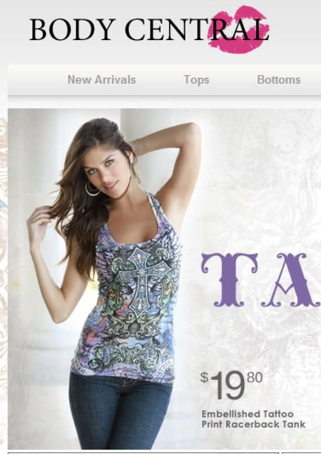 31 Free Women's Clothing Catalogs: Body Central Women's Clothing Catalog