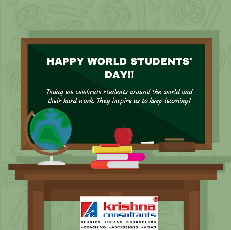 The best way to learn is to teach! Happy WORLD STUDENTS' DAY!! #WorldStudentsDay