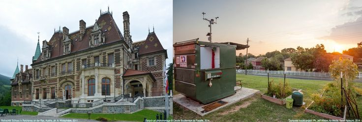Rothschild castle - 100 trillion dollars Vs Dumpster House - 100 dollars.jpg