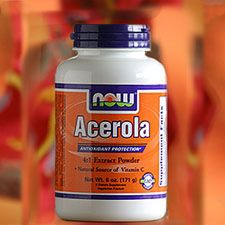 NOW Acerola Powder- Vit. C without ascorbic acidAscorbic Acid, Acerola Fruit, Eating Cleaning, Acerola Cherries, Acerola Powder, Families Health, Cherries Vitamins, Central America, Cherries Extract