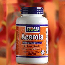 NOW Acerola Powder- Vit. C without ascorbic acid: Ascorbic Acid, Acerola Fruit, Eating Cleaning, Acerola Cherries, Acerola Powder, Families Health, Cherries Vitamins, Central America, Cherries Extract