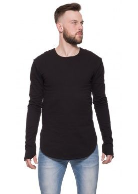 Closed sweater black