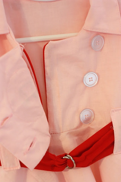 Rockford Peach Costume