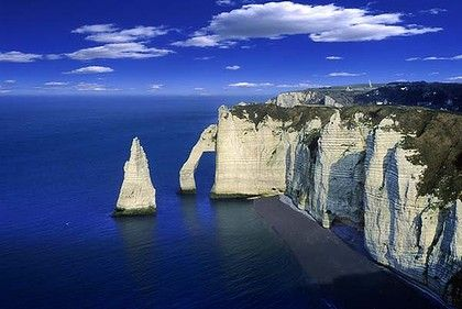 white cliffs of dover - normandy, france   Beauty in the ...