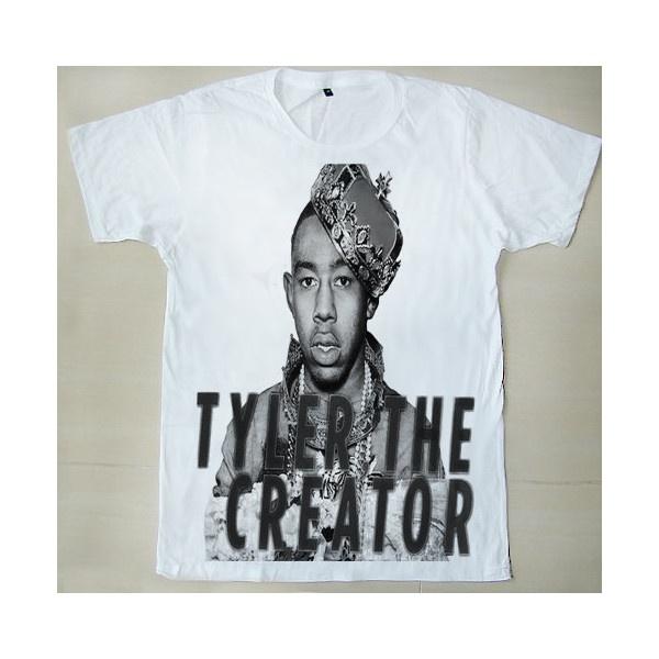 The King OFWGKTA Odd Future Tyler The Creator Tyler Gregory Okonma Sam... ($15) ❤ liked on Polyvore
