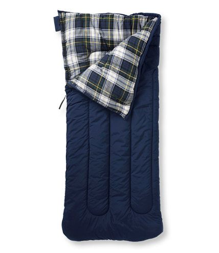 old school sleeping bag... Camp Sleeping Bag, Flannel-Lined 40: Sleeping Bags | Free Shipping at L.L.Bean