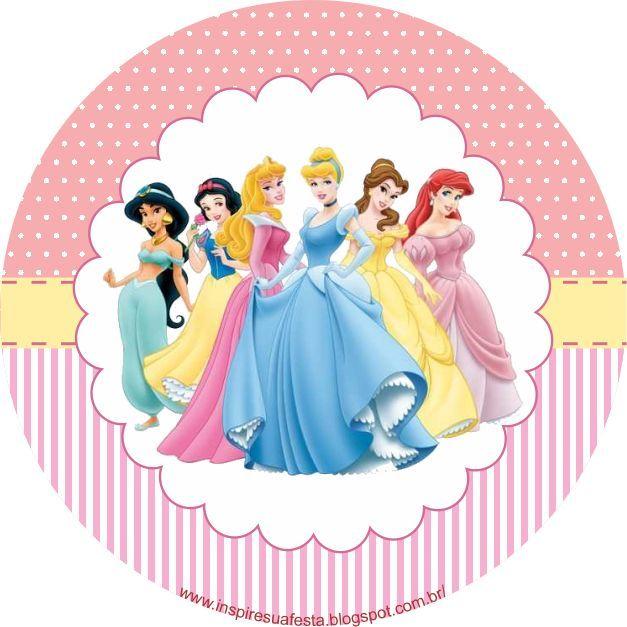 Tooper para cupcakes ou docinhos princesas disney - Muebles de princesas disney ...