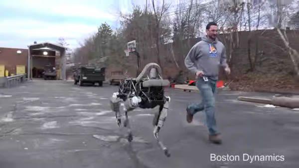 Новый робот Spot