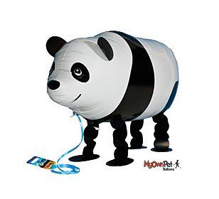 Walk-a-panda balloon