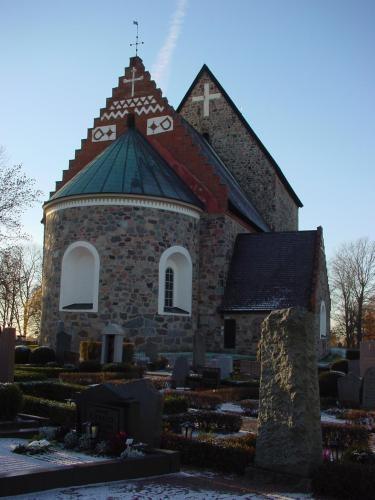 Gamla Uppsala.  Jim & I visited here