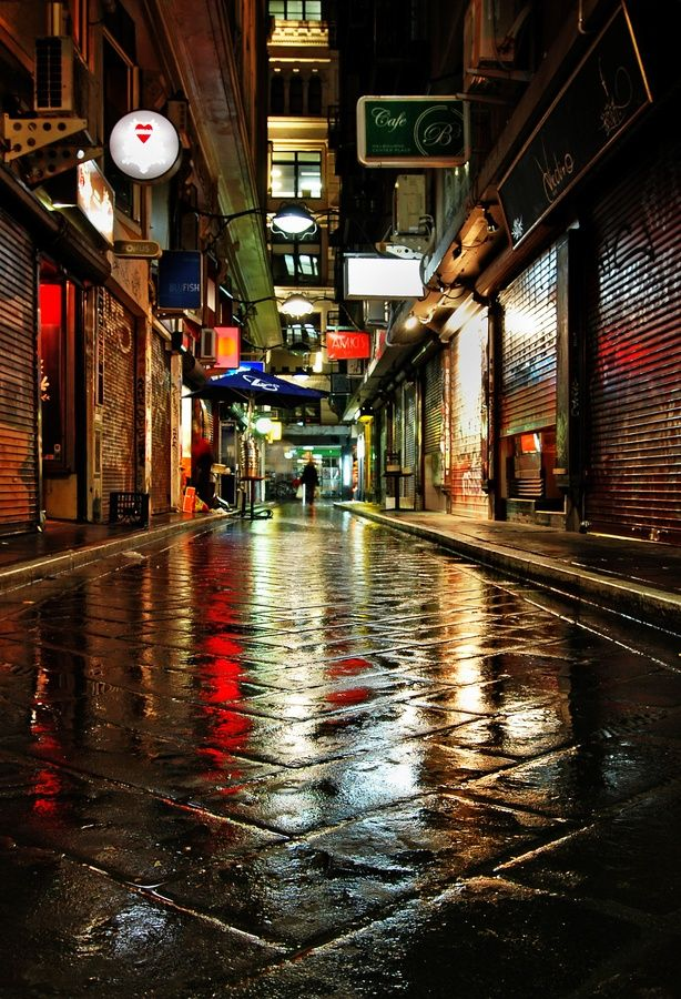 We love this photo of #Melbourne After the rain - Melbourne, Victoria, Australia