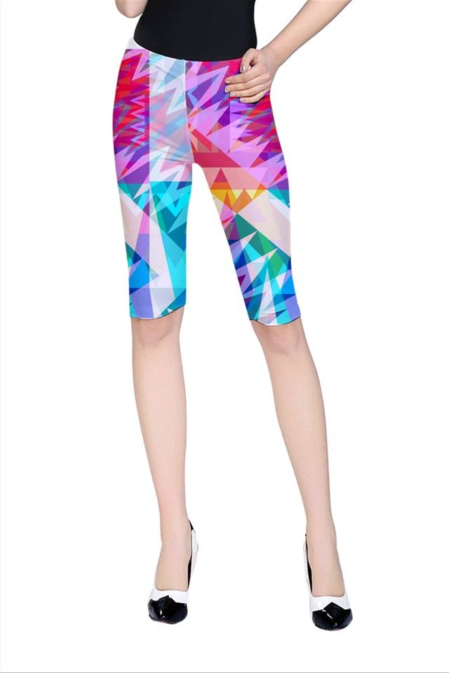 Triangle Feast_MirandaMol Cropped Leggings #pinkcess #mirandamol #fashion #cool #leggings #summer #pinkcess #pinkcessfashion #pnkx