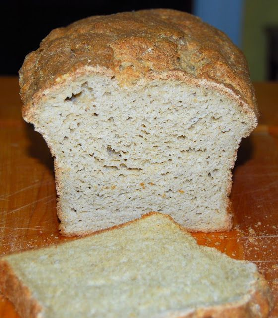 Gluten-free, Vegan Bread (uses almond milk but may be able to substitute with a nut free milk)