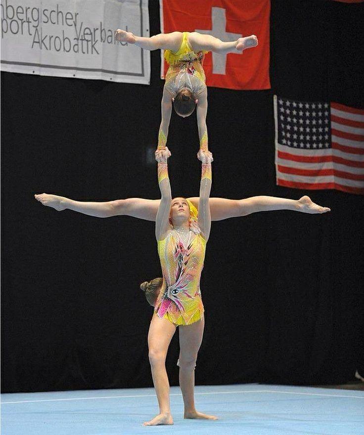 Acrobatic gymnastics leotards