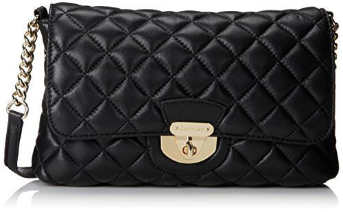 New Trending Shoulder Bags: Calvin Klein Quilted Lamb Shoulder Bag, Black/Gold, One Size. Calvin Klein Quilted Lamb Shoulder Bag, Black/Gold, One Size  Special Offer: $174.00  100 Reviews Interior: 2 zip pockets, 3 slip pockets11 inch x 2 inch x 7.5 inch