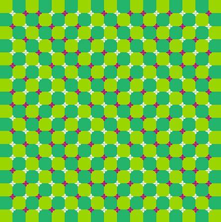 Amazing optical illusions by Kitaoka-5, Japan