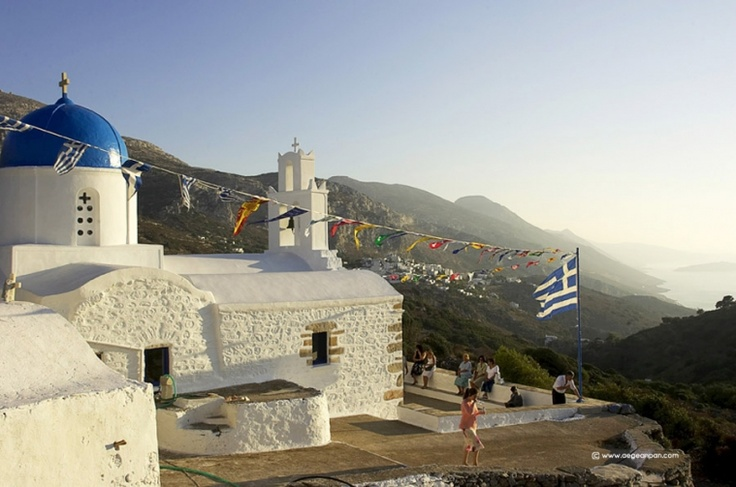 August 15 in the Aegean islands