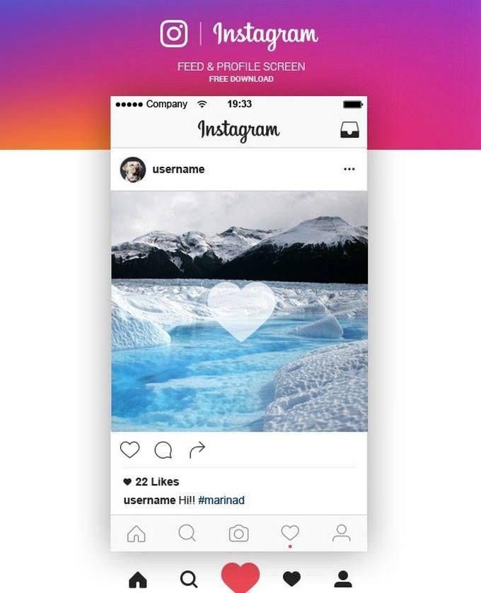 Instagram Feed Profile Screen Free Ai Instagram Mockup Social Media Mockup Social Media