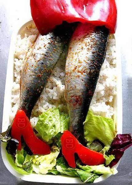 Sai come far mangiare pesce e verdura a tuo figlio?  #bastardidentro #pesce #verdura #gambe