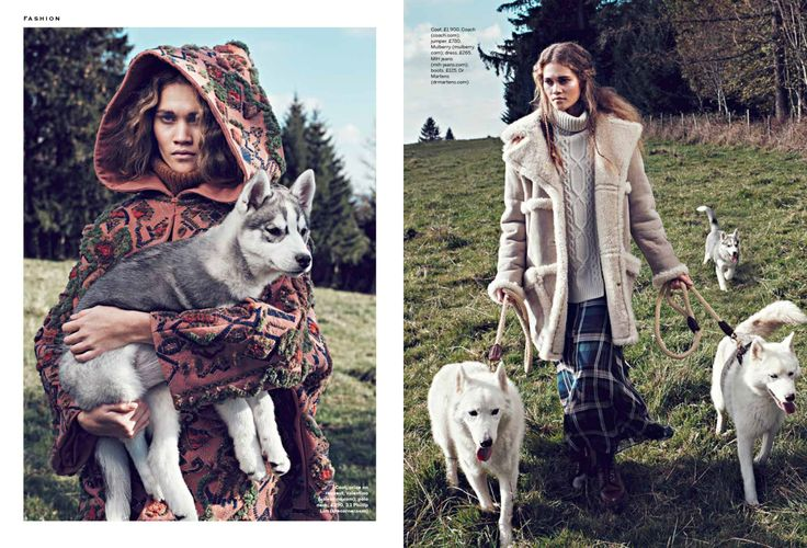 Stylist UK, Philippa Steele, Husky