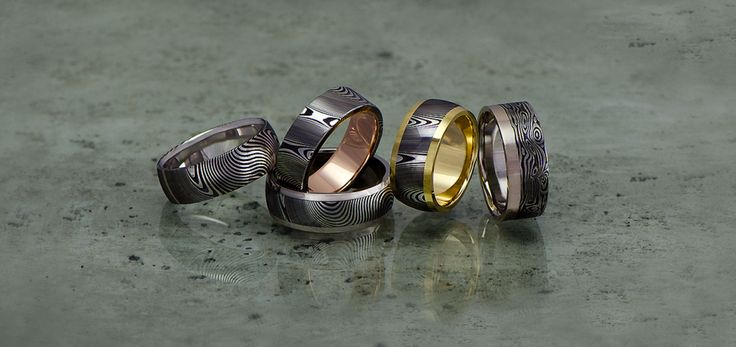 David Parums is a Tasmaniaan jeweller who draws on his experience both as a knifemaker and jeweller to create unique hand crafted rings from Damascus steel and only the best 18ct golds and gemstones. Through his work he explores the juxtaposition of ancient metalsmithing techniques with the precision of modern metalurgy.