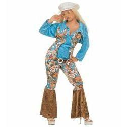 Forma parte de la comunidad hippie con este sensacional disfraz, no pasarás desapercibida.