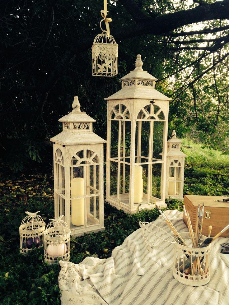 www.facebook.com/thewonderwoodstore vintage lantern nature, wood, candles, wonderland, magic garden