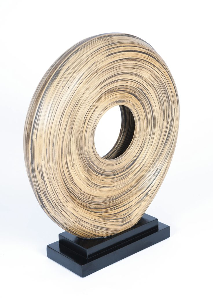 Bamboo piece of art - perfect for a mantlepiece.