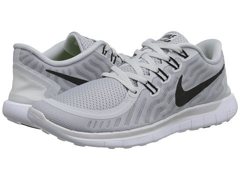 Nike Free 5.0 Pure Platinum/Wolf Grey/Cool Grey/Black - Zappos.com Free Shipping BOTH Ways