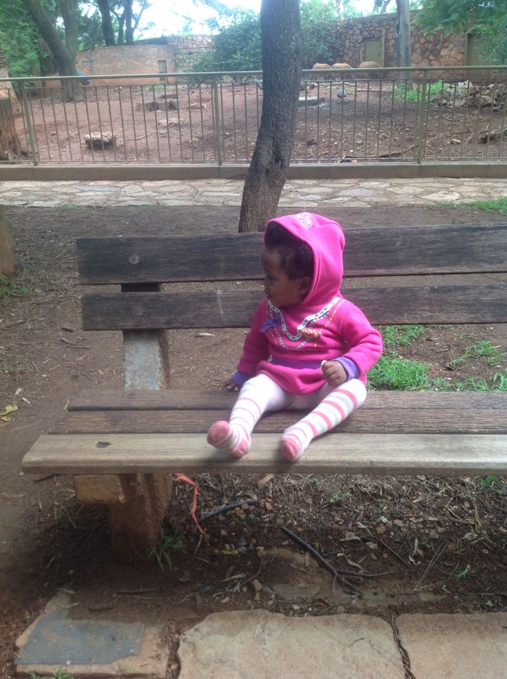 Avery's first visit to the zoo