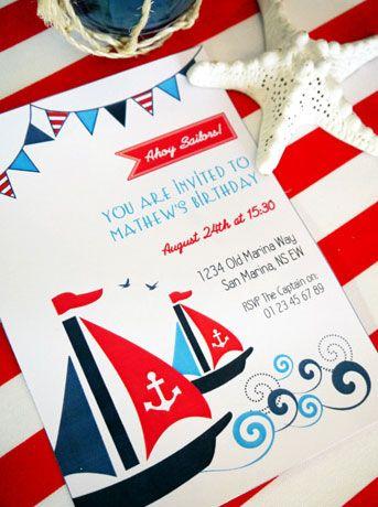 Ya que estamos con el estilo marinero...... encontré estas ideas geniales para montar un cumpleaños o una fiesta marinera. La verdad es ...