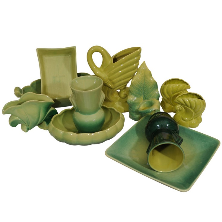 Collection of Beauce Pottery from Quebec, 1940s |Pinned from PinTo for iPad|