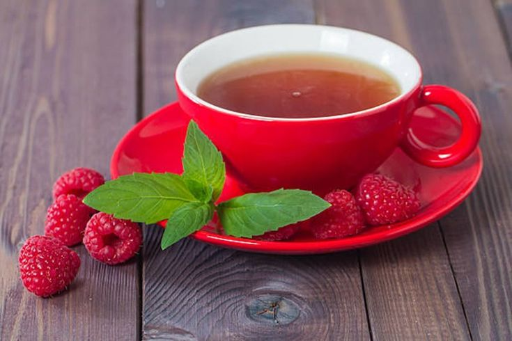 Картинки чай с малиной