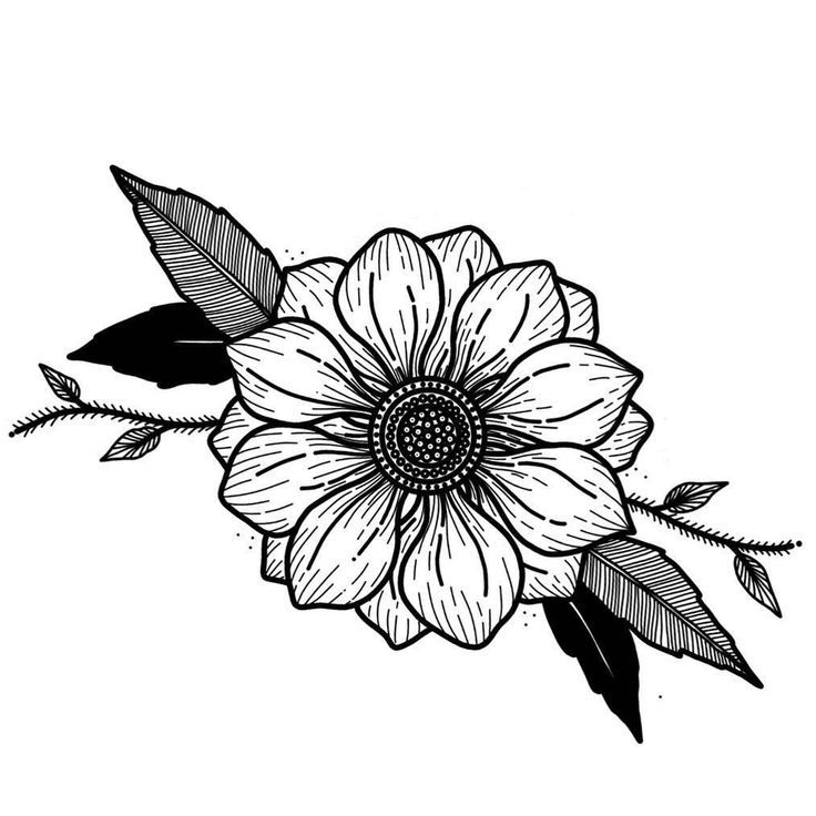 Flower Tattoos Outline In 2020 Flower Tattoo Shoulder Vintage Flower Tattoo Small Flower Tattoos